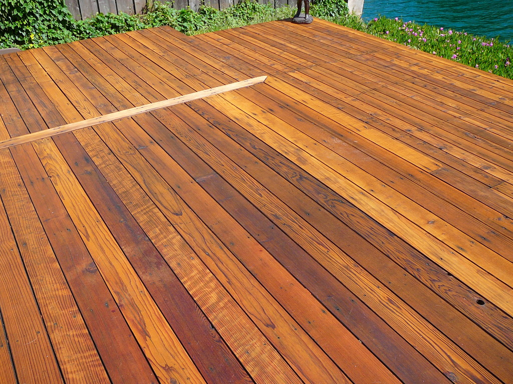 Natural Redwood Deck Cal Preserving