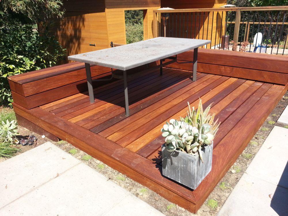 Hardwood Decks Cal Preserving